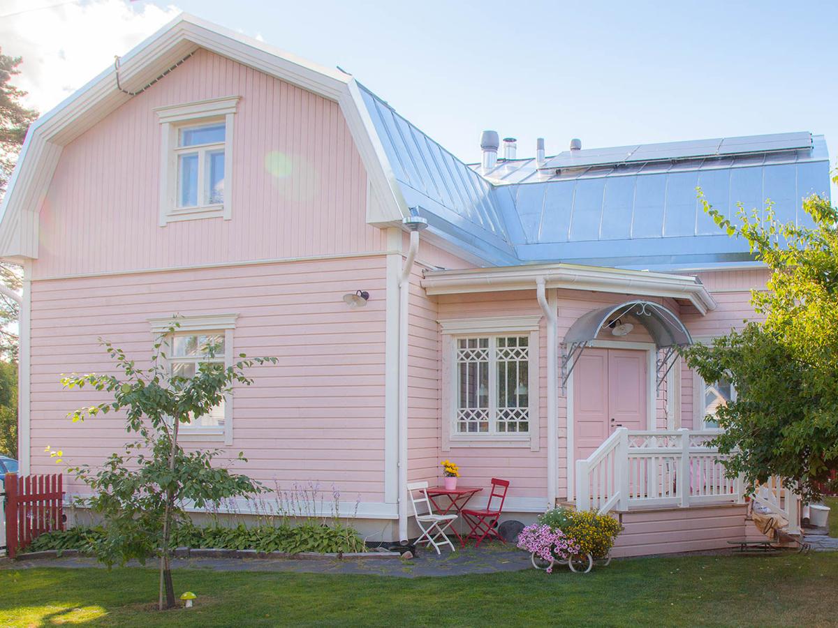 Omakotitalo Itä-Suomessa